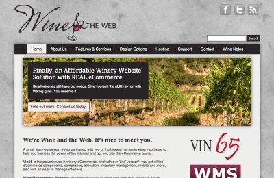 Wine and the Web